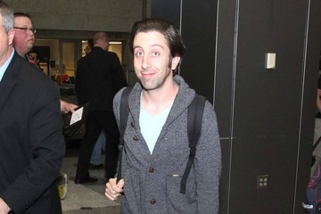 Simon Helberg Simon Helberg Arriving At SXSW Airport