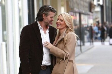 Slade Smiley Gretchen Rossi & Slade Smiley Share A Kiss In Beverly Hills