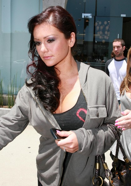 jersey shore snooki and jwoww. Jersey Shore stars Nicole