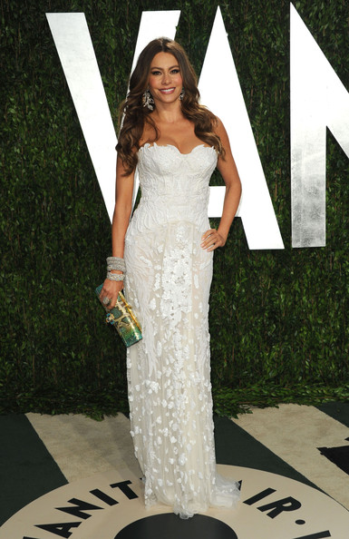 Sofia Vergara Celebrities at the 2012 Vanity Fair Oscar Party at the Sunset Tower hotel in Hollywood, CA on February 26, 2012<br /> <br /> Pictured: Sofia Vergara