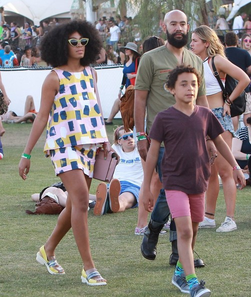 Solange Knowles - Celebs At Week 2 Of Coachella - Day 2
