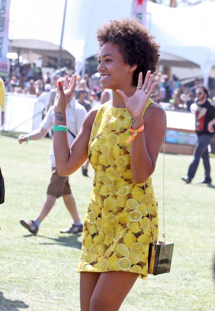 Solange Knowles - Coachella Music Festival Day 3