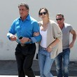 Sophia Rose Stallone Sylvester Stallone & Daughter Out For Lunch In Beverly Hills