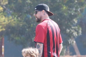 Sparrow Madden Joel Madden Coaches His Son's Soccer Team