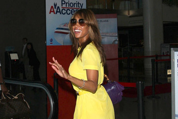 Stacey Dash Stacey Dash Arriving For A Flight At LAX