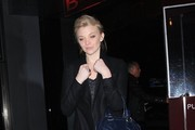 Celebrities are spotted leaving Soho House in West Hollywood, California after enjoying a night out on January 8, 2016.