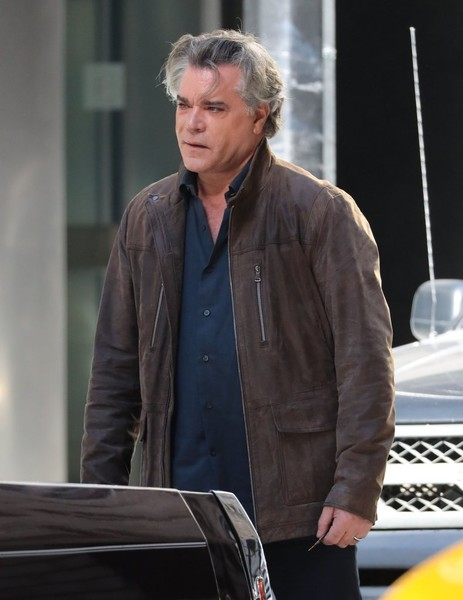Ray Liotta in Stars Film 'Shades of Blue' in NYC - Zimbio