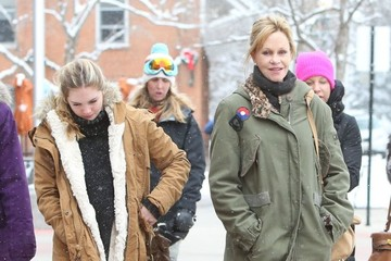 Stella Banderas Melanie Griffith Shops with Her Daughter in Aspen