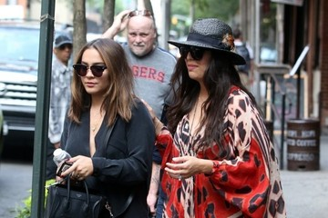 Stella Hudgens Vanessa Hudgens Steps Out in NYC