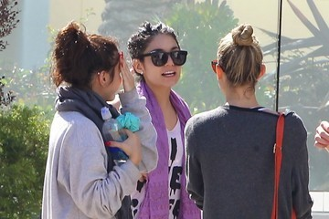 Stella Hudgens Vanessa Hudgens Works Out With Friends
