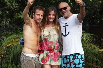 Stephen Dorff Christian Audigier Throws a Party