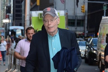 Stephen King Celebrities Out and About in NYC