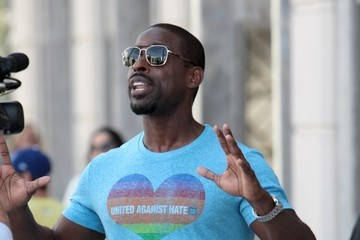 Sterling K. Brown Sterling K. Brown Goes Shopping In Beverly Hills