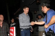 Steven Gerrard Goes out for Dinner at Craig's