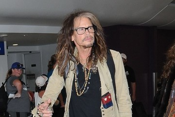 Steven Tyler Steven Tyler Arrives at LAX