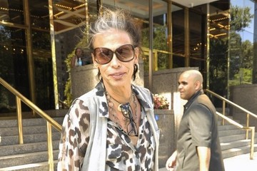 Steven Tyler Celebs Spotted Out During New York Fashion Week