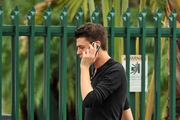 Mario Dedivanovic Stylist Mario Dedivanovic Taking A Smoke Break In Miami