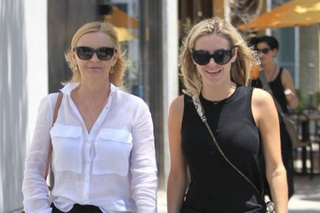 Susan Stewart Morgan Stewart Morgan Stewart Out For Lunch With Her Mother