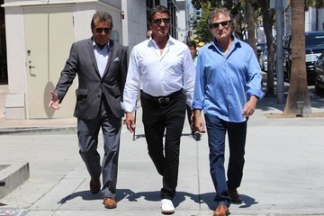 Sylvester Stallone Sylvester Stallone Steps out in Beverly Hills