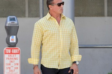 Sylvester Stallone Sylvester Stallone Grabs Lunch At The Palm