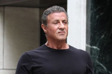 Sylvester Stallone Sylvester Stallone and His Daughter Sistine Step Out in New York