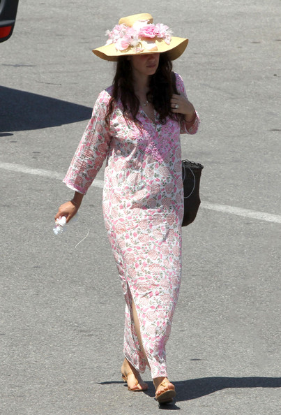 Tatiana Santo Domingo - Pregnant Tatiana Santo Domingo Returns To Monaco