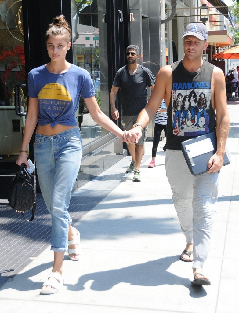 Taylor Marie Hill Michael Stephen Shank Michael Stephen Shank Photos Taylor Marie Hill And Michael Stephen Shank Go Out For Lunch In Beverly Hills Zimbio