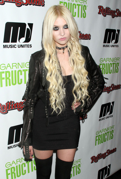 Singer Taylor Momsen at Music Unites & Rolling Stone In-Tune event in New York City, NY.