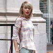 Taylor Swift Matches Her Lipstick and Purse