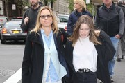 Tea Leoni and Her daughter Out In New York City