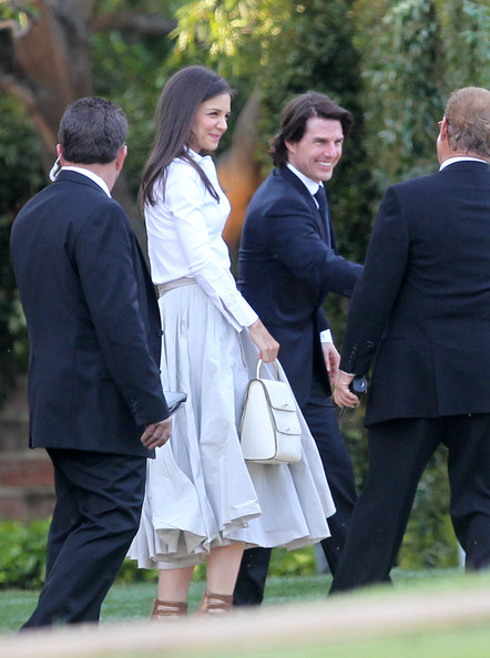 katie holmes wedding. Tom Cruise and Katie Holmes
