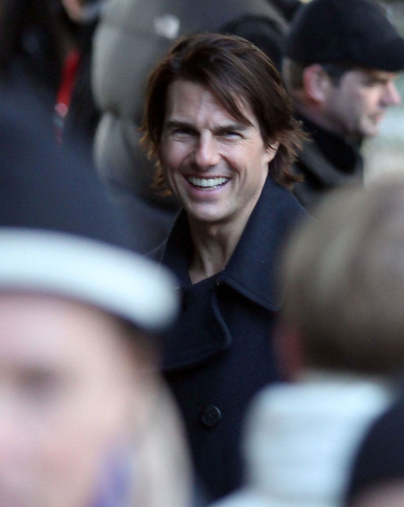 Tom Cruise On The Set Of 'Mission Impossible 4: Ghost ...