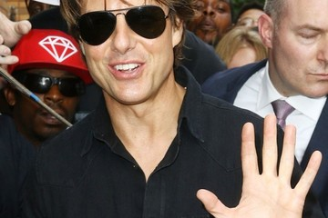 Tom Cruise Celebs Visit 'The Daily Show With Jon Stewart'