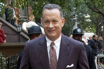 Tom Hanks Scenes from the 'St. James Place' Set