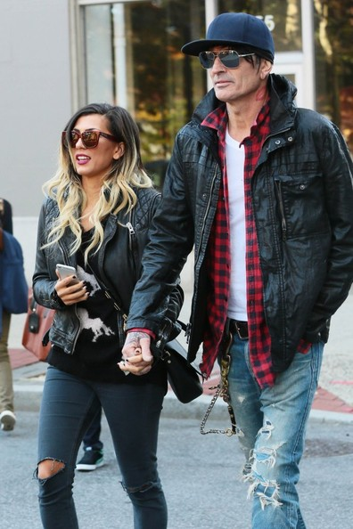 Tommy Lee and Sofia Toufa Out in NYC - Pictures
