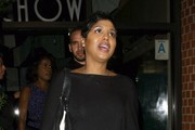 Toni Braxton Gets Dinner in Beverly Hills