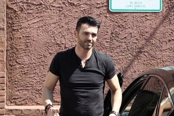 Tony Dovolani Celebs at 'Dancing With The Stars' Practice
