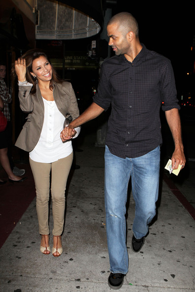 Tony Parker Photos Photos - Eva Longoria Parker & Husband Heading To ...