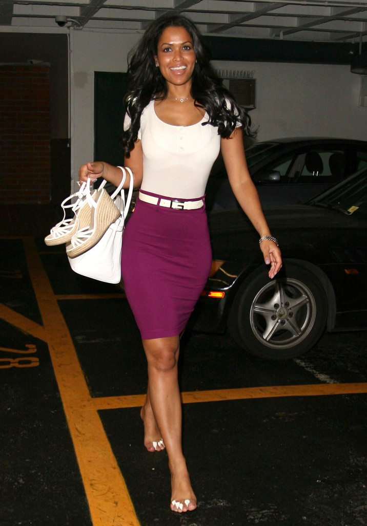 Tracey Edmonds Photos Photos Tracey Edmonds Getting Her