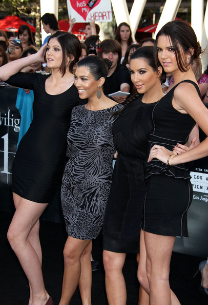 """Kendall Jenner Celebrities attend """"The Twilight Saga: Eclipse"""" premiere during the 2010 Los Angeles Film Festival at the Nokia Theatre at LA Live in Los Angeles."""