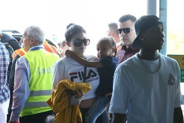 Tyga Kylie Jenner The Kardashian Family Departing On A Flight In Costa Rica
