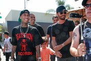 Tyga Meets With Scott Disick for His Birthday