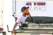 Tyga Pumps Gas in Sherman Oaks