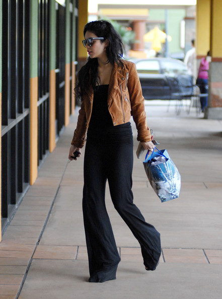 Actress Vanessa Hudgens is seen out and about in Studio City, CA.