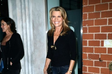 Vanna White Vanna White Gets Dinner in Beverly Hills