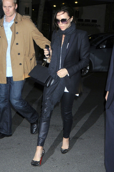 Victoria beckham photos photos pregnant victoria beckham arrives at