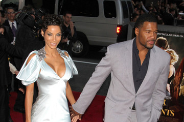 Michael Strahan Nicole Murphy 'Water For Elephants' New York Premiere