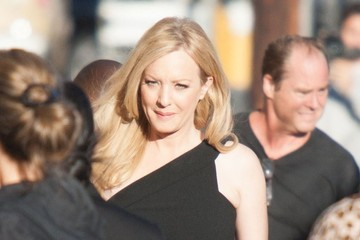 Wendi McLendon-Covey Celebs Stop by 'Jimmy Kimmel Live!'