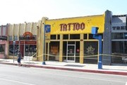 West Hollywood Fire Damages Kat Von D's Tattoo Shop - General Views