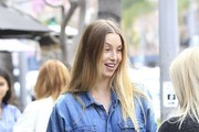 Whitney Port Has Lunch With a Friend in Beverly Hills